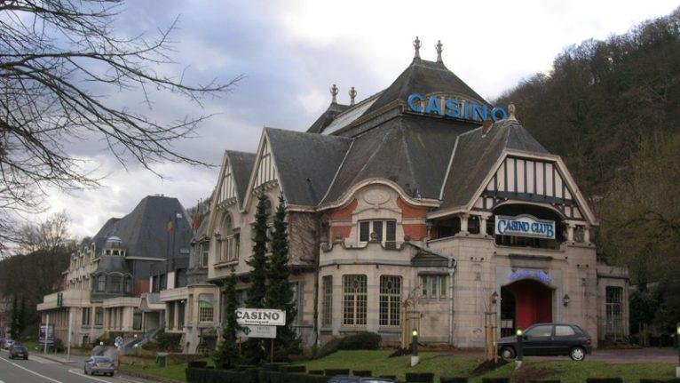 facade du casino de namur