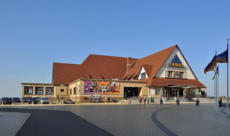 facade du casino de middelkerke